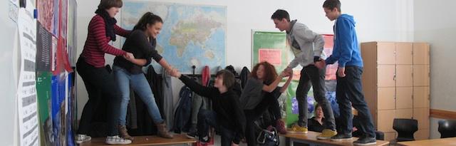 Schülerworkshop, Sophie-Scholl-Schule Berlin, 2012