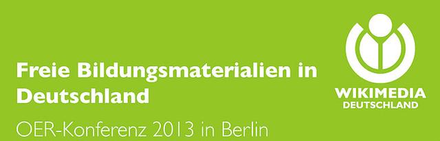 OER-Konferenz 2013