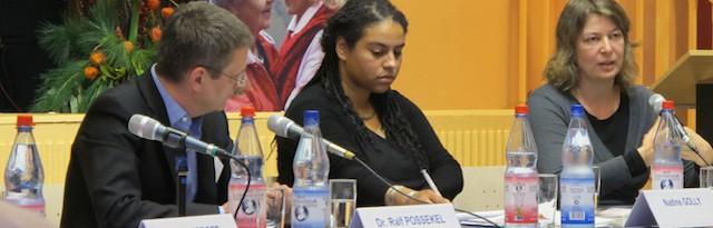 Nadine Golly, Tagung Erinnerungskultur in der Migrationsgesellschaft, 2012